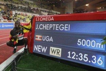 Di tengah pandemi Joshua Cheptegei pecahkan rekor dunia lari