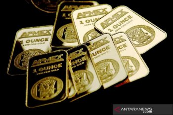Emas melonjak 14 dolar saat optimisme bantuan COVID-19 di AS naik
