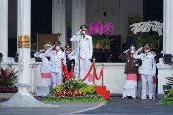 Peringatan HUT RI ke-75 tingkat Kota Bogor tetap lengkap dan khidmat di masa pandemi