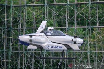 SkyDrive  uji coba mobil terbang berawak pertama di Jepang