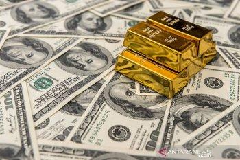 Emas terus menguat didorong harapan stimulus dan kejatuhan dolar AS