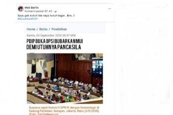 Cek FAKTA - PDIP buka opsi bubarkan MUI demi utuhnya Pancasila