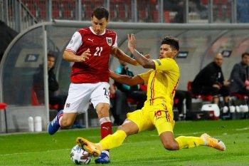 Rumania ambil alih pucuk klasemen Grup B1 setelah tundukkan Austria 3-2