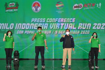 Nestle gelar lomba lari virtual
