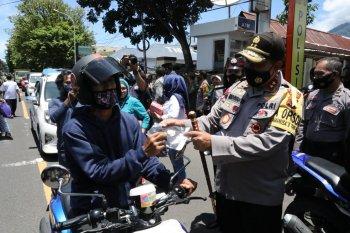 Kapolda Malut ingatkan penting gunakan masker antisipasi COVID-19