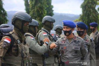 Personel Brimob Maluku BKO diharapkan layani negara dan masyarakat di Papua