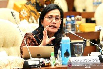 Sri Mulyani: Pendapatan negara turun 13,1 persen
