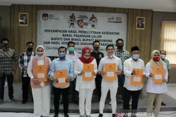 Tiga bakal paslon Pilkada Karawang 2020 telah memenuhi syarat