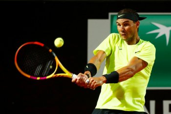 Rafael  Nadal lewati Lajovic untuk ke perempat final Italian Open