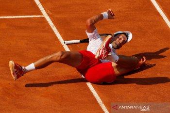 Novak Djokovic sesali kegagalan dalam US Open dan Roland Garros