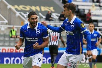 Liga Inggris: Brighton cukur Newcastle tiga gol tanpa balas