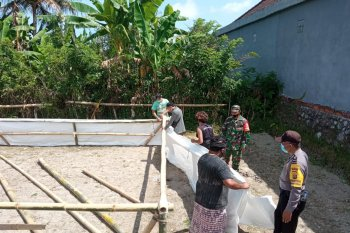Tim Terpadu COVID-19 tertibkan arena sabung ayam di Bangli