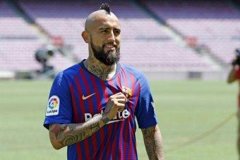 Vidal ucapkan perpisahan kepada penggemar Barcelona