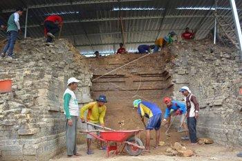 Ekskavasi situs cagar budaya Patakan Lamongan