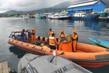 Basarnas Ternate masih cari dua orang tenggelam di Perairan Laiwui