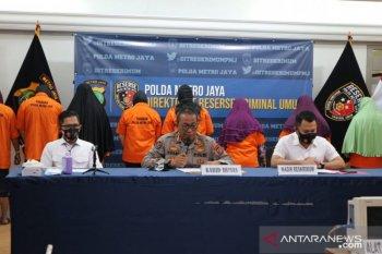 Polda Metro rekonstruksi kasus klinik aborsi di Jakarta Pusat, 10 orang ditetapkan sebagai tersangka