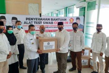 Pemkot Serang terima bantuan 1.000 alat PCR dari Partai Gerindra Banten