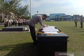 Kapolresta berharap peningkatan kinerja pejabat yang dilantik