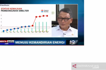 Menteri ESDM Arifin Tasrif sebut hilirisasi kunci optimalkan hasil tambang