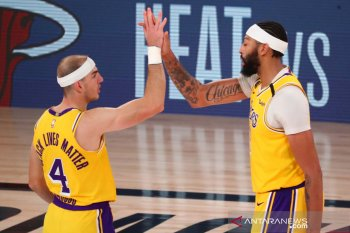 Los Angeles Lakers unggul 3-1 atas Denver  Nuggets dalam final Wilayan Barat