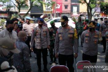 Kapolda Jabar tinjau Operasi Yustisi Protokol Kesehatan di Kota Bogor