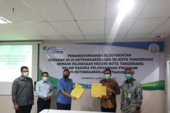 Tiga Kantor Cabang BPJAMSOSTEK se Kota Tangerang gandeng kejaksaan