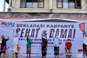 KPU Badung utamakan kampanye sehat dan damai di Pilkada 2020