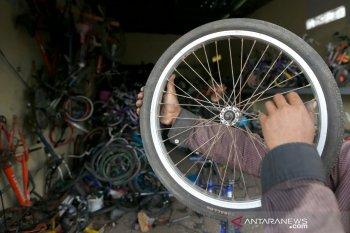 Permintaan sepeda bekas meningkat