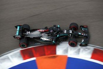 Hamilton menyintas drama babak  kualifikasi GP Rusia untuk pole position