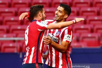 Liga Spanyol: Debut Suarez antarkan Atletico hajar Granada 6-1