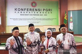 Amsohi resmi terpilih jadi Ketua PGRI Bogor periode 2020-2025