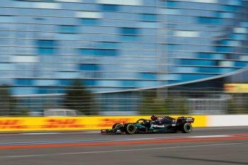 Formula 1: Bottas juarai GP Rusia setelah Hamilton diganjar penalti ganda