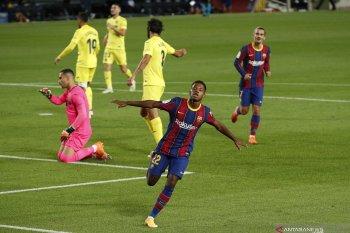 Ronald Koeman girang lihat penampilan Ansu Fati, saat Barca bantan Villareal 4-0