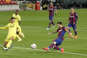 Messi cetak gol ketika Koeman awali era dengan kemenangan 4-0