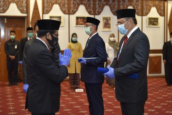 Bestari jadi Pjs Bupati Bungo dan  Varial Adhi Putra  pimpin sementara Tanjabtim