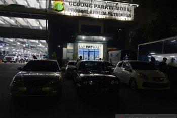 Polisi tilang 11 mobil balap liar di Senayan