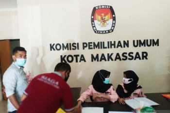 Ketua dan satu anggota KPU Makassar positif corona
