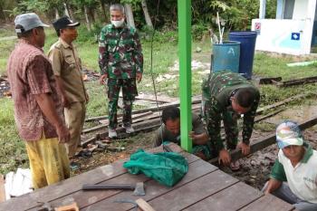 Pelaksanaan program TMMD  bantu percepatan pembangunan desa