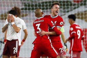 Diogo Jota cetak gol debut, Liverpool bekuk Arsenal 3-1