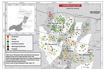 Warga lansia dominasi kasus baru COVID-19 di Kota Sukabumi