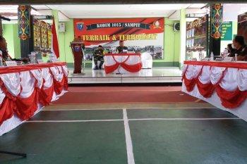 Tim Wasev Mabesad TNI kunjungi lokasi kegiatan TMMD Reguler Kodim 1015/Spt