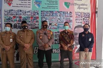 Ketua KPU Sampaikan Persoalan Tes Swab Penyelenggara Kepada Pjs Bupati Serang