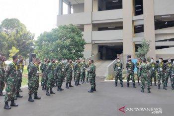 TNI kirim 25 personel untuk tambahan tenaga medis di RSD Wisma Atlet