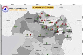 Pasien positif COVID-19 di Kabupaten Sukabumi bertambah 10 orang
