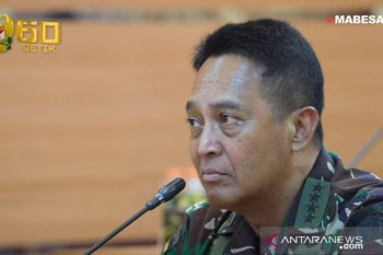 Kasad Jenderal Andika Perkasa  beri arahan prajurit JRTC 21-01 yang akan ke AS