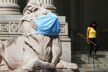 Di New York, orang yang tak gunakan masker didenda 1000 dolar
