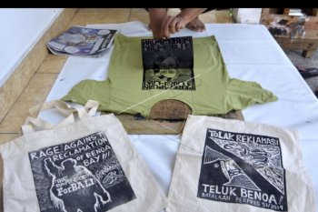 Kampanye penyelamatan pesisir Bali
