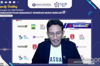 Sandiaga Uno motivasi GenBI Bali jadi motor perubahan