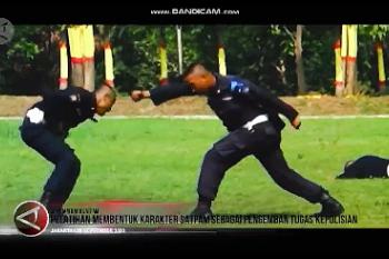 Pembentukan karakter Satpam sebagai pengemban tugas Kepolisian