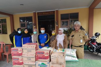 Pemkab Serang salurkan bantuan bagi warga isolasi mandiri